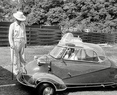 Elvis Presley in his Messerschmitt -1956   Flickr - Photo Sharing!