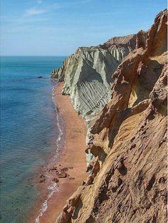 Hormuz Island, Persian Gulf, Hormuzgan Province, #Iran (Persian: جزیره زیبای…