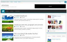 16 Free Blogger Templates