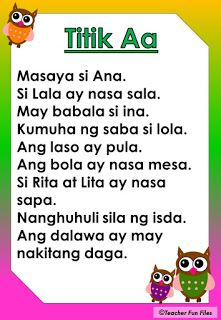 Practice reading Filipino stories through these short Tagalog reading passages for kids from kinder to grade one. These FREE Reading mater. First Grade Reading Comprehension, Phonics Reading, Reading Comprehension Worksheets, Reading Passages, Teaching Reading, Reading Practice, Grade 1 Reading Worksheets, Kindergarten Reading Activities, Filipino Words