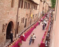 Certaldo - a medieval town rich of Folklore - Tuscany