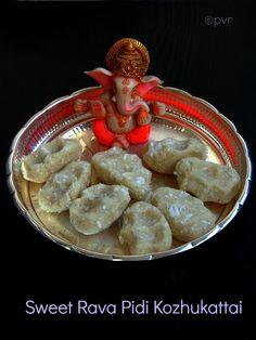 Sweet Rava Pidi Kozhukattai
