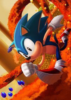 Sonic  Created by Andriy  (viadotcore)