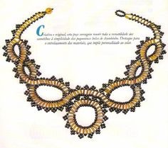 Bugels (a la soutache?) - full schema and instructions, but needs translation. #seed #bead #tutorial