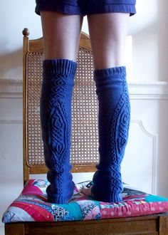 legwarmers by annamariahorner, via Flickr