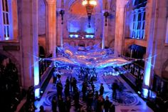 Beaux Arts Ball Installation by SOFTlab Creative Material Use Dazzles Party Guests http://www.frameweb.com/news/beaux-arts-ball-installation-by-softlab