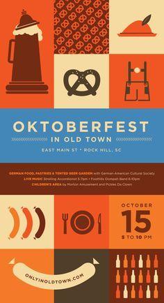 Oktoberfest on Pinterest | Beer Festival, Oktoberfest Invitation ...