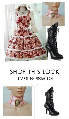 """""""Untitled #10398"""" by bj837101 ❤ liked on Polyvore featuring Funtasma"""