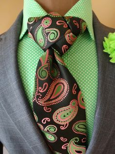 The Paisley Park X-Long Necktie www.thecorvancollection.com