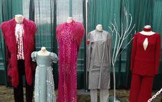 Hunger Games Costume Exhibit Tour Opens at Emerald City Comicon in Seattle  Katniss, Peeta, Rue, Marvel, Cato, Haymitch, Primrose