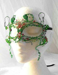 Poison ivy mask.
