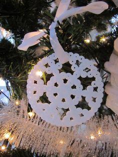 kersthanger van strijkkralen