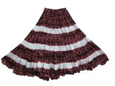Gypsy Bohemian Skirts, Brown Cotton Broomstick Tiered Skirt Womens Skirt Mogul Interior,http://www.amazon.com/dp/B00BKX6XRK/ref=cm_sw_r_pi_dp_Fo8MrbC3D05649A5