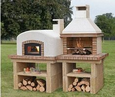 Le plus récent Photos Barbacoa rusticas Stratégies Rustic Kitchen Design, Outdoor Kitchen Design, Outdoor Kitchens, Backyard Kitchen, Backyard Patio, Outdoor Fire, Outdoor Living, Outdoor Decor, Barbecue Four A Pizza