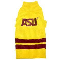 Pets First Arizona State University Dog Sweater, Medium