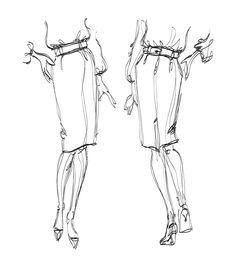 Pin by Marsya Jrm on Fashion Figures Pinterest Gesture drawing
