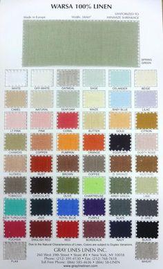 Warsa Linen - Gray Lines Linen, Inc.