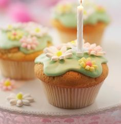 With this Birthday Cupcakes Recipe you can surprise someone special on their birthday.