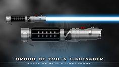 My Lightsaber by broodofevil.deviantart.com on @deviantART