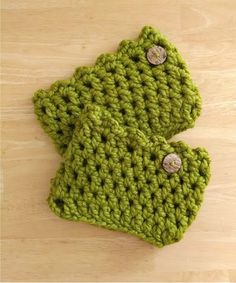 Fiber Flux...Adventures in Stitching: Free Crochet Pattern... Friendship Boot Cuffs!