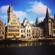 by mamendt: fun weekend in Gent #visitgent