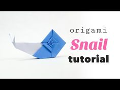 Origami Snail Tutorial ♥︎ Designed by Eric Gjerde ♥︎ Paper Kawaii - YouTube