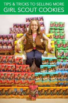 Tips & Tricks to help your daughter sell more Girl Scout cookies.