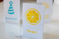 Custom Letterpress with Lifestyle Crafts