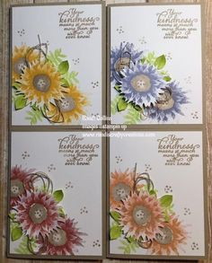 I am in love with the new stamp set that will be available on September 1, 2017. It is called Painted Harvest and I will have it linked b...