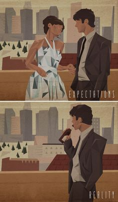"Expectations vs Reality - ""(500) Days of Summer"" SOAP BOX: when we place too many expectation on a relationship, we place someone in a box. People don't like to be in a box, and soon, you'll find that you won't even have them around to put those expectations on them. Looking outside yourself might actually be the key."