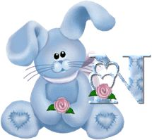 toutlalphabet2 - Page 3215 Alphabet, Images Gif, Smurfs, Creations, Gifts, Character, Haha, Bunnies