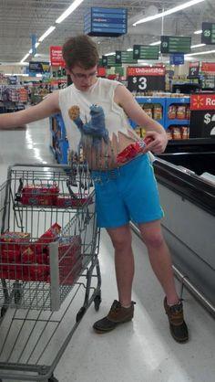 My friend went to Walmart tonight...