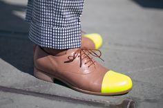 Neon Cap Shoes for Men