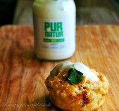 Receitas para a Felicidade!: Muffins de Puré de Batata e Bacon