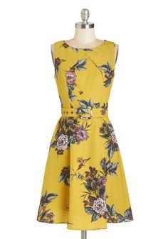 Sunny Socializing Dress | Mod Retro Vintage Dresses | ModCloth.com
