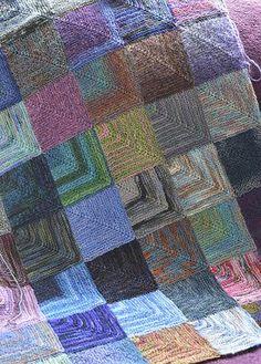 Mitred Square Blanket 11