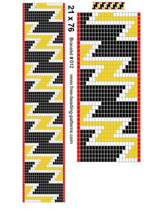 Learn how to make this beaded bracelet on a loom in this FREE eBook on bead Loom Bracelet Patterns, Bead Loom Bracelets, Bead Loom Patterns, Beading Patterns, Loom Beads Loom Bracelet Patterns, Bead Loom Bracelets, Bead Loom Patterns, Peyote Patterns, Beading Patterns, Mochila Crochet, Tapestry Crochet Patterns, Beadwork Designs, Tapestry Design