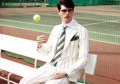 Arthur Daniyarov Hits the Tennis Court in Chic Summer Styles