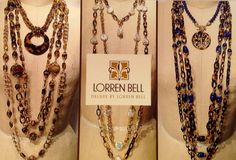 A tryptic of looks from the Lorren Bell Fall collection.