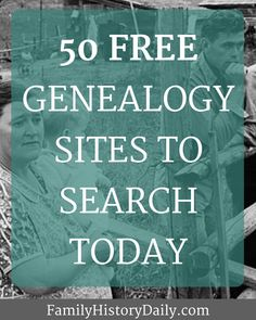 307 Best Free Genealogy Resources images in 2019 | Genealogy