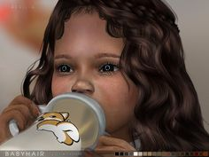 ONLY FOR TODDLERS Found in TSR Category 'Sims 4 Female Skin Details'