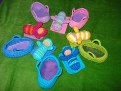 Crochet baby dolls