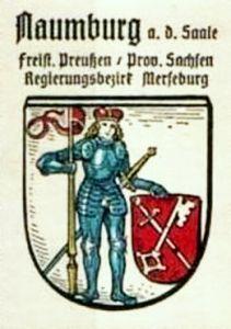 Das alte Naumburger Wappen