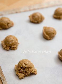 #Recipe - The Best Peanut Butter Oatmeal Cookies (With Coconut Oil)