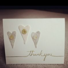 My little thank you card :)