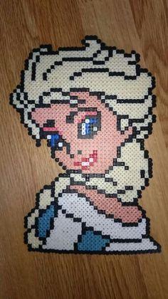 Olaf Frozen hama perler beads |