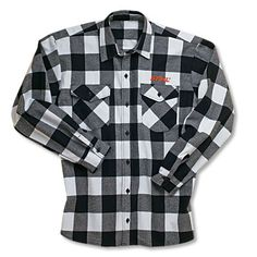 Brawny flannel heavy weight work shirt | Perfect flannel look for work and play