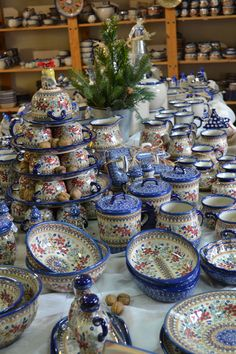 Time to Visit...Manufaktura Polish Pottery Never a Dull Day in Poland