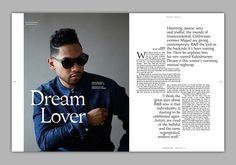 Image result for magazine layout music
