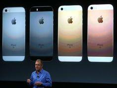 Vendas de celulares Iphone caem pela primeira vez